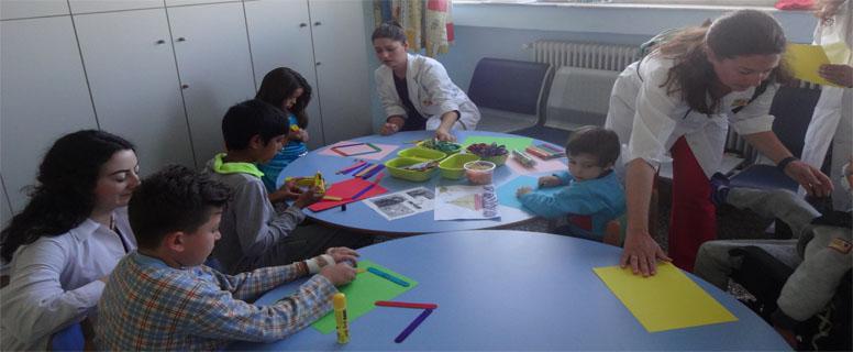 Δημιουργική απασχόληση μια πολύτιμη προσφορά των εθελοντών της Ε.Δ.Α.Ν.Ι