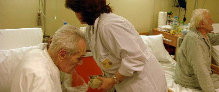Συμπαράσταση και στήριξη στους μοναχικούς ασθενείς.